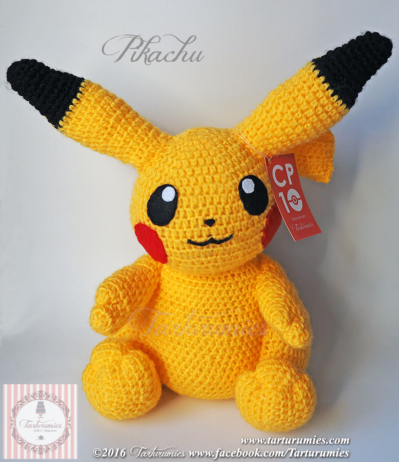 PATTERN: Pikachu Amigurumi, Pikachu Crochet Pattern, Detective ... | 926x800