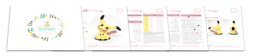 Pokemon Amigurumi | Ganchillo amigurumi, Patrones amigurumi y ... | 188x846