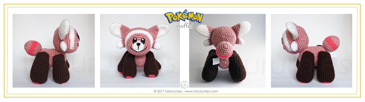 Amigurumi Patrón: Pokémon Stufful – Tarturumies