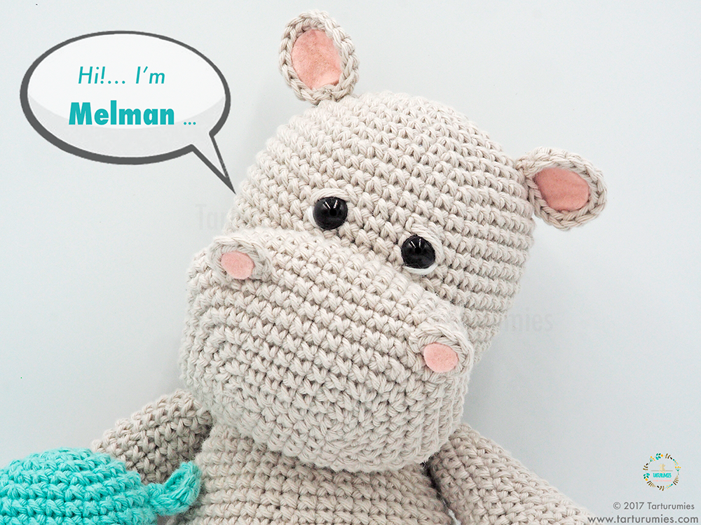 Baby Bunny Amigurumi Crochet Pattern eBook door Sayjai ... | 750x1000