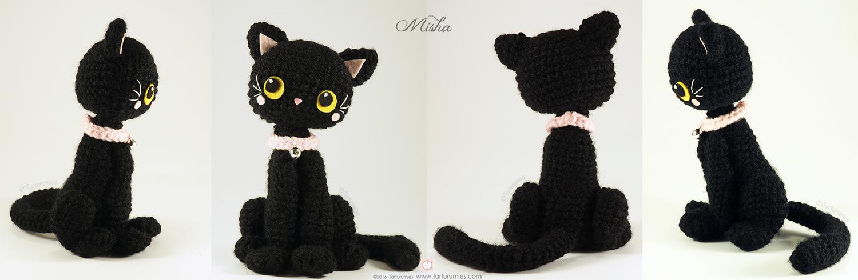 Ami Amore: Pusheen Amigurumi Crochet Pattern & Tutorial: Candy ... | 490x1500