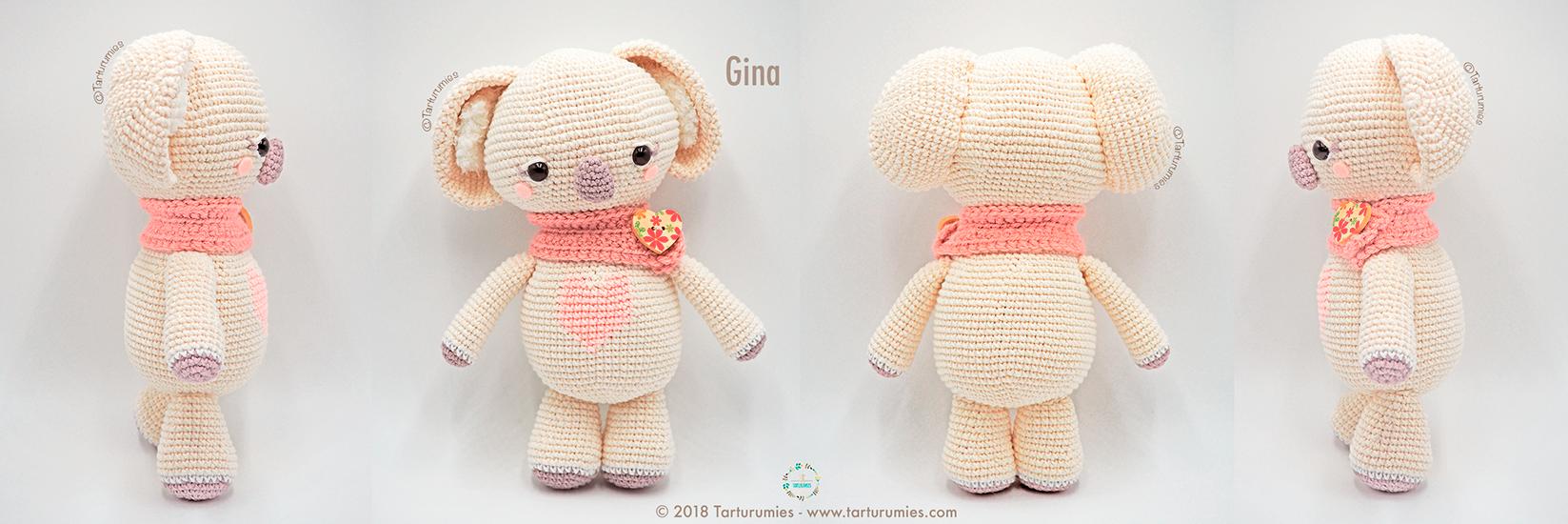 Amigurumi Patrón: Koalas San Valentín – Gina y Dante – Tarturumies