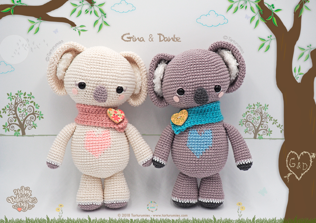 DIY Fluffies - Cute Koala Amigurumi toy crochet pattern.... | Facebook | 763x1080