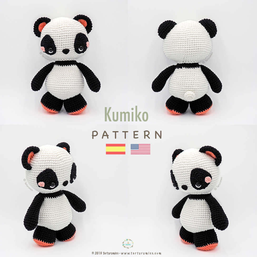 Super Cute Panda Crochet Patterns You Will Love | The WHOot | 1080x1080