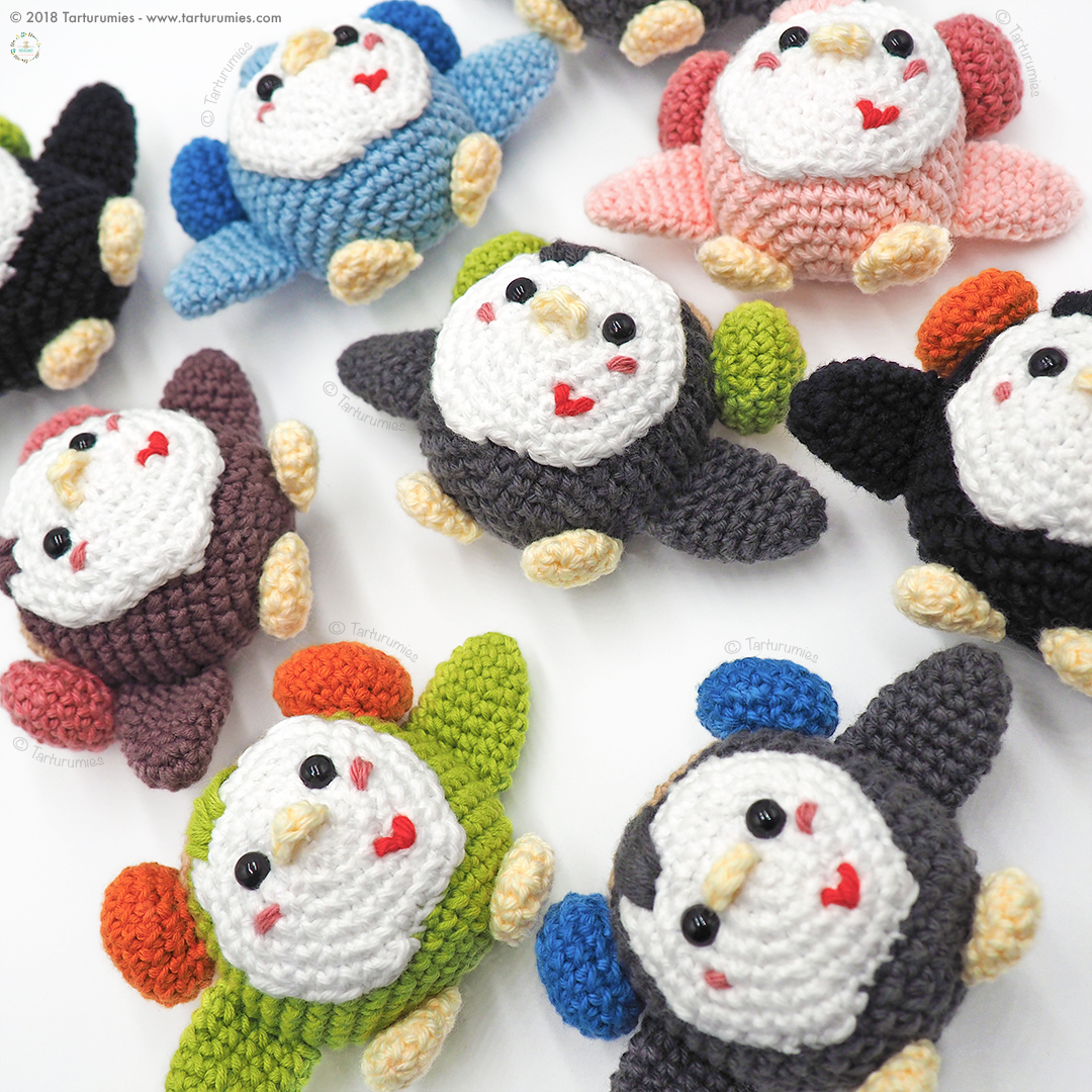 Pattern: Penguin Frost/Pingüino Hielito Amigurumi Penguin   Etsy   1080x1080