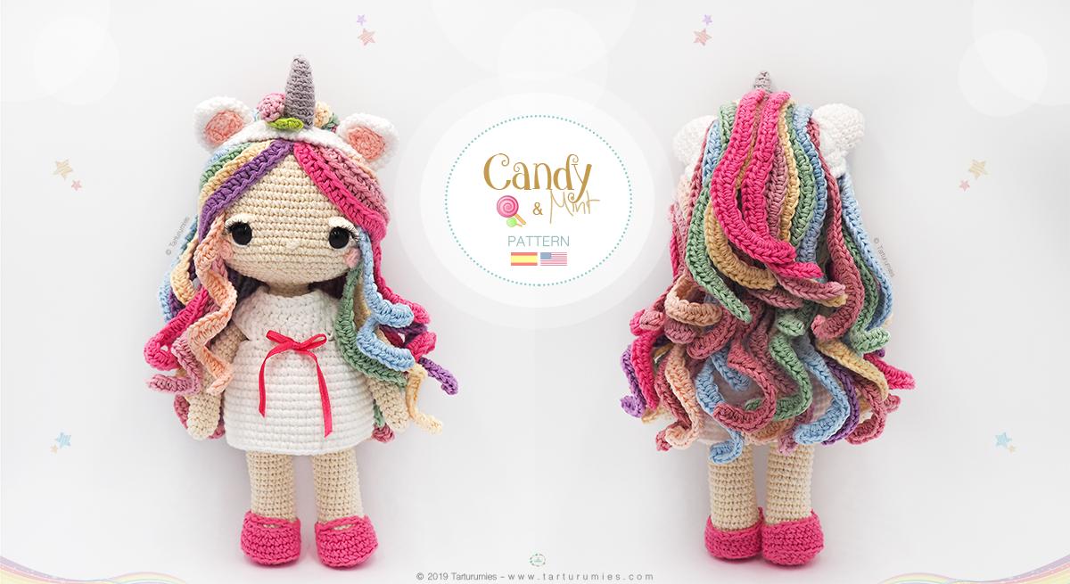 ▷ 9 Tutoriales de UNICORNIOS TEJIDOS a crochet | 9️⃣🦄 | 655x1200