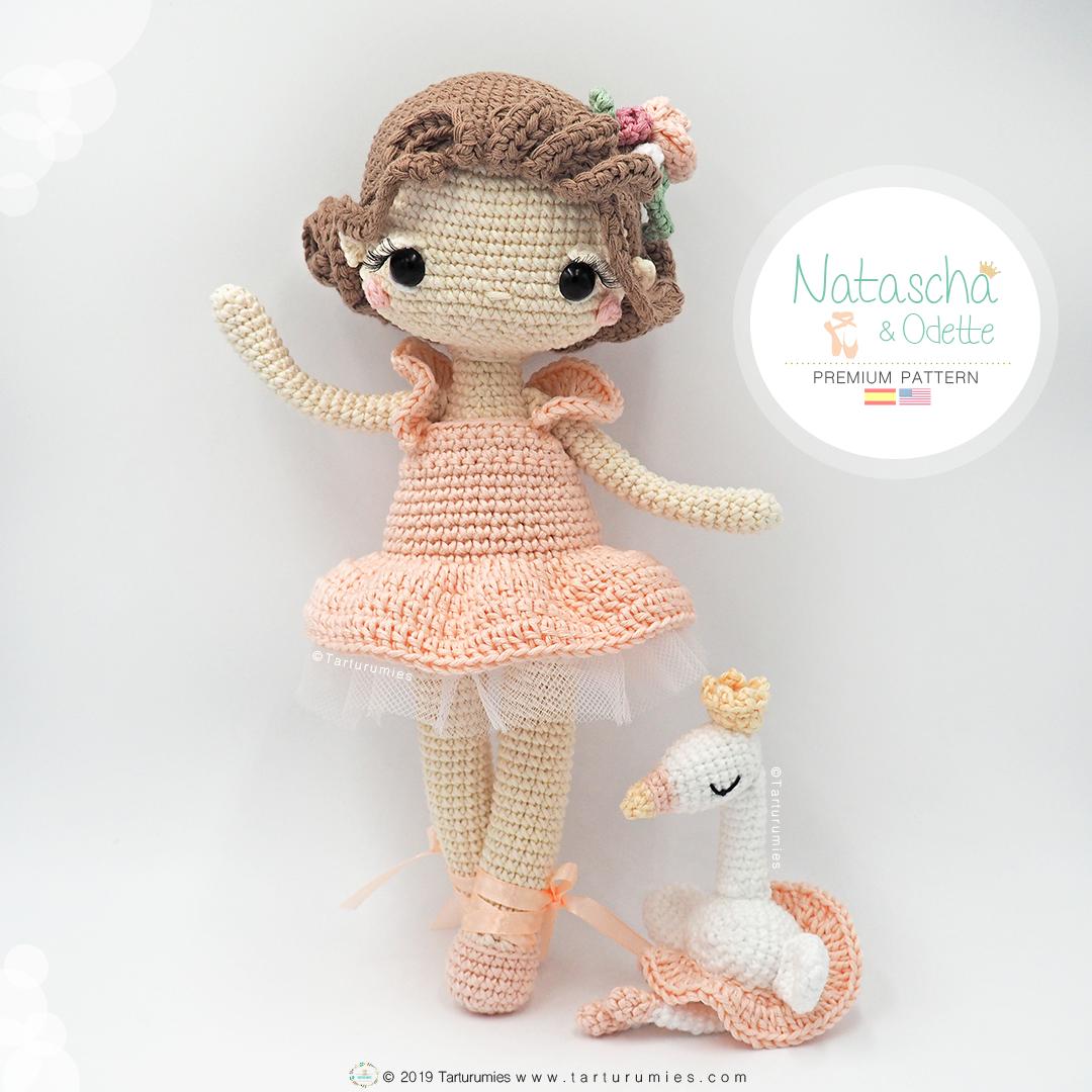 Free Ballerina Doll amigurumi crochet pattern ⋆ Crochet Kingdom   1080x1080