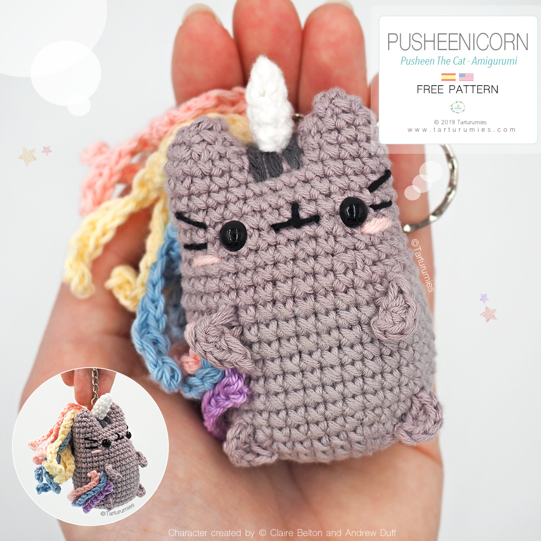 Magical unicorn free amigurumi pattern | Amigurumi Space | 1080x1080