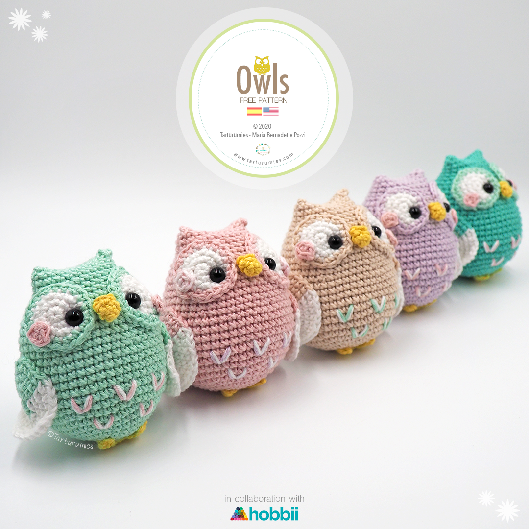 Baby Knitting Patterns Crochet Hearty Owl Amigurumi Free Pattern ... | 1080x1080